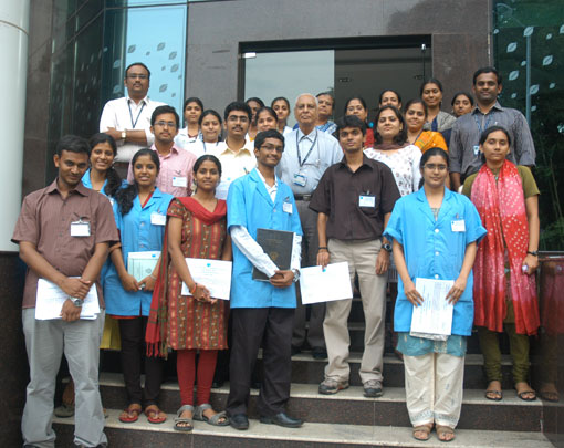 BITS students complete training