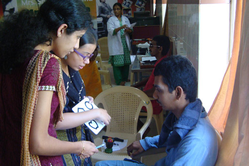special eye screening camp