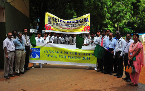 Awareness rally during Eye Donation Fortnight