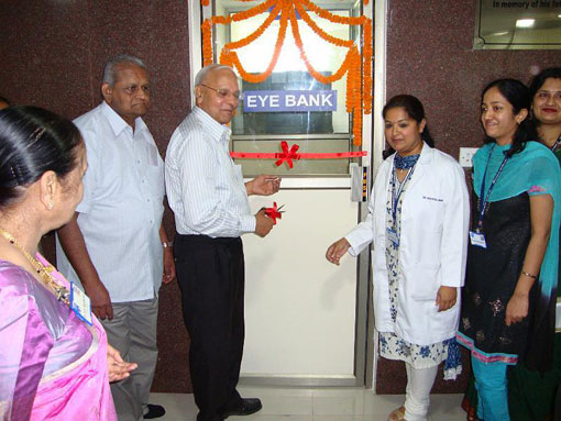 Eye Bank inaugurated at SN-Kolkata