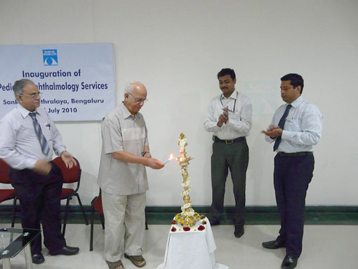 Paediatric services inaugurated at Bangalore centre