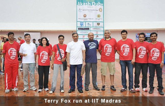 Terry Fox run at IIT Madras